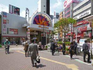 西蒲田商店街入口